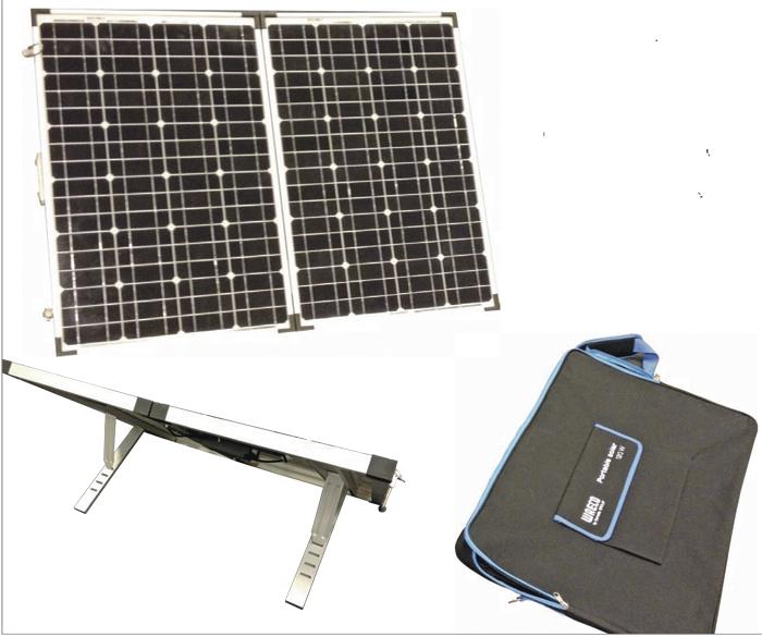 Nye solpaneler i markedet før sommerferien. Foto: Dometic