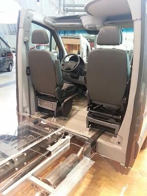 Bygge om varebil til personbil