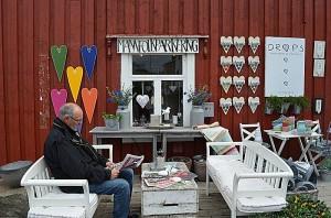 Mannfolkparkering - et flott tiltak. Foto: Yngvar Halvorsen og Merete Furustad