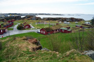 Haraldsvangen camping. Foto: Yngvar Halvorsen.