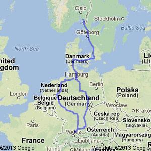 kart over rhinen Vårlig rundtur med bobilen | Bobilverden.no kart over rhinen