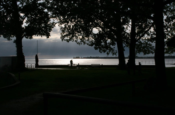 Bodensjøen fra Park Lindau am See. Foto: Ottar Olsen/Else Eriksen.