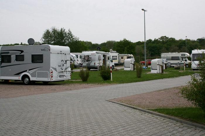 Reisemobilhafen Nautimo i Wilhelmshaven. Foto: Ottar Olsen/Else Eriksen.