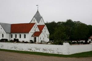 Kirka på Rømø. Foto: Ottar Olsen/Else Eriksen.