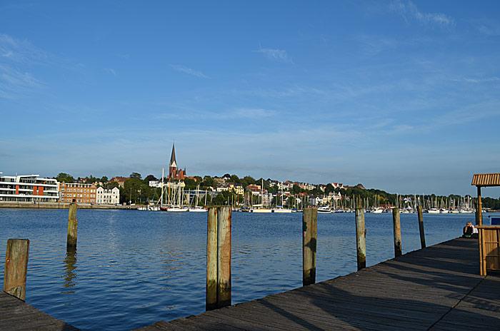 Havna i Flensburg. Foto: Yngvar Halvorsen.