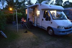 Alkmaar camping. Foto: Yngvar Halvorsen.