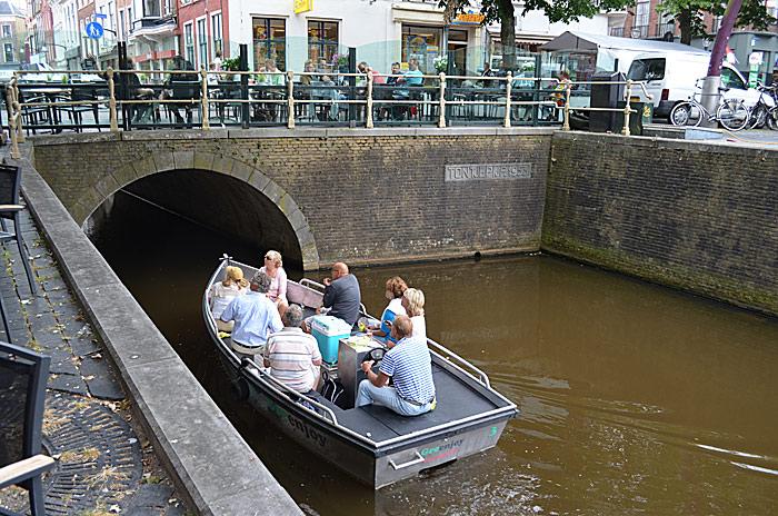 Kanal i Groningen. Foto: Yngvar Halvorsen.