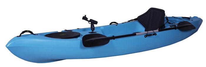 En kajakk kan bringe deg ut på lange dagsturer. Foto: Wee Caravan System.