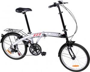 En sammenleggbar sykkel er lett å ta med. Foto: Icaravan.no