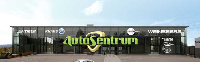 Autosentrum er Vestfolds nyeste bobilforhandler. Foto: Autosentrum.
