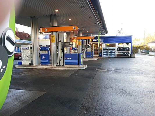 Har du vinterdiesel på tanken? Det kommer an på når du fylte diesel sist. Foto: Knut Randem.