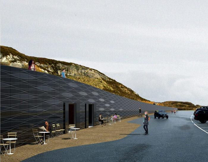 Anlegget på Eldhusøya åpner i dag. Foto: Statens vegvesen
