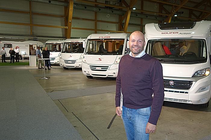 Ola Heggen og SoliferPolar AS berøres ikke av konkursen i selskapet de har samarbeidet med. Foto: Knut Randem.