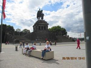Deutsce Eck i Koblenz.