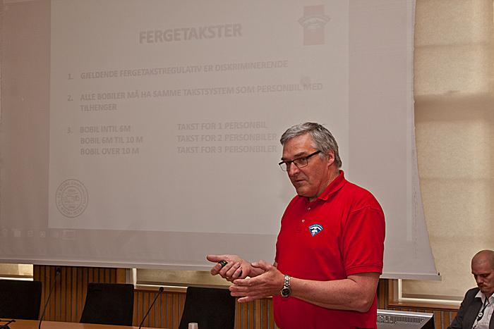 Jørgen Snoen i NBCC tror på gjennomslag for organisasjonens syn. Foto: Knut Randem.