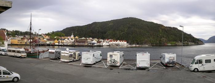 Utsikten fra Hydrokaia. Foto: Jarle Nilssen.
