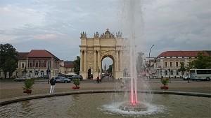 Potsdams eget Brandenburger Tor. Foto: Knut Randem.