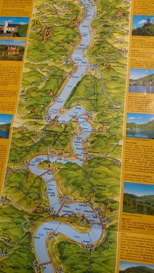 kart over moseldalen Tre timer, tre dager eller tre uker i Moseldalen? | Bobilverden.no kart over moseldalen