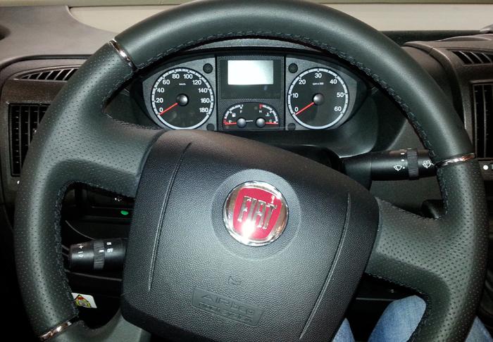 Registrer deg på Fiats nettsider for å få varsel om aksjoner og tilbakekallinger for din bobil.