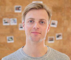 Markedssjef Åsmund Hogstad Johnsen i GoMore åpner for bobilutleie. Foto: privat.