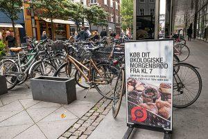 Sykkel er et anvendelig og populært fremkomstmiddel i Aarhus.