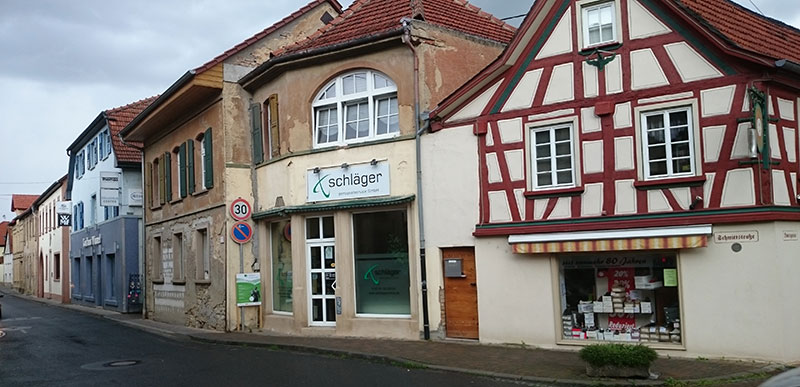 Sprendlingen er en liten og ganske så typisk tysk landsby. Her produseres Eura. Foto: Knut Randem.