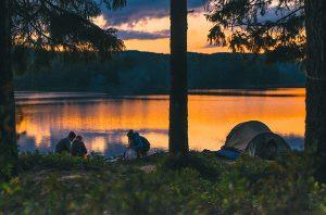 Telt eller bobil. Mulighetene er mange, mener Visit Värmland.