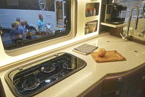 Kjøkkenet i prototypen. Foto: Knut Randem.