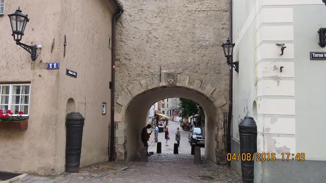 Riga har selvfølgelig også sin bymur rundt gamlebyen.