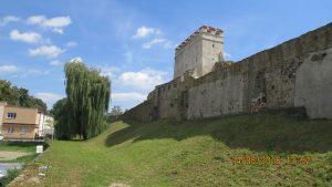 Her fant vi en gammel middelalderby med navn Bardejov. Selvfølgelig med en flott bymur rundt.
