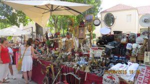 Loppemarked i Split.