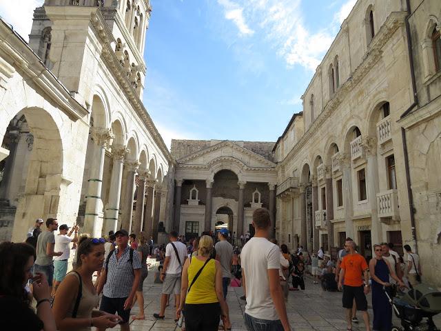Fra gamlebyen i Split.