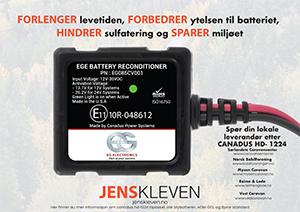 Annonse Jens Kleven
