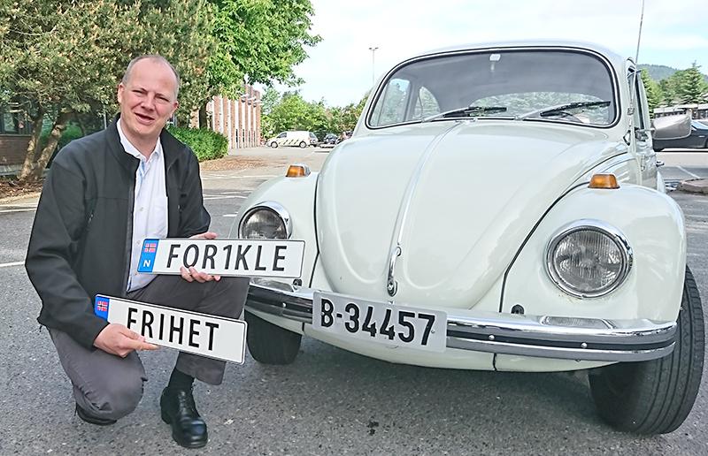 Utenlandske bilskilt i norge
