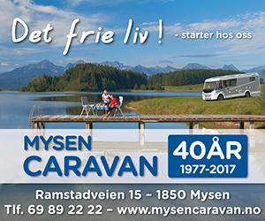 Annonse Mysen Caravan 2018