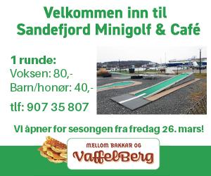 Annonse Sandefjord minigolf